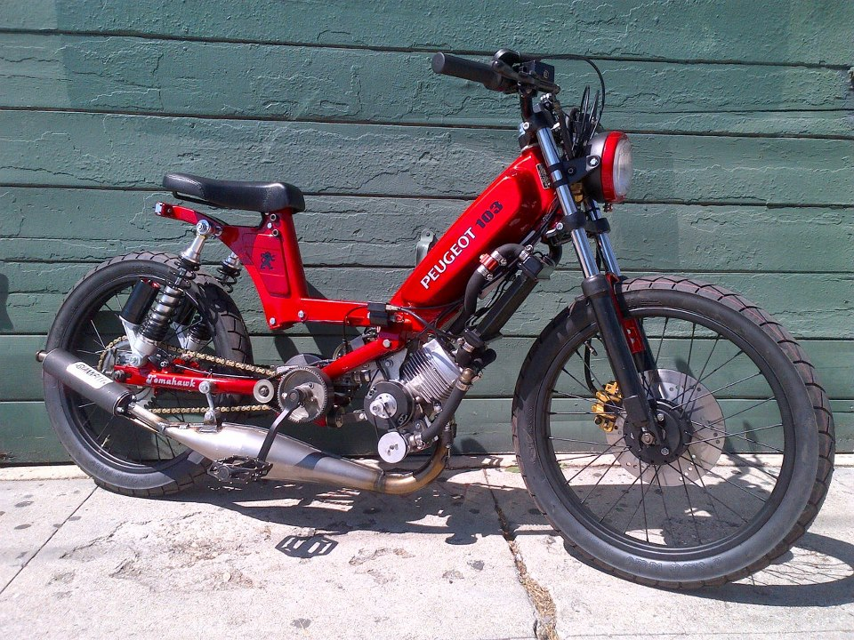 tomahawk mopeds speed and art on wheels. Black Bedroom Furniture Sets. Home Design Ideas