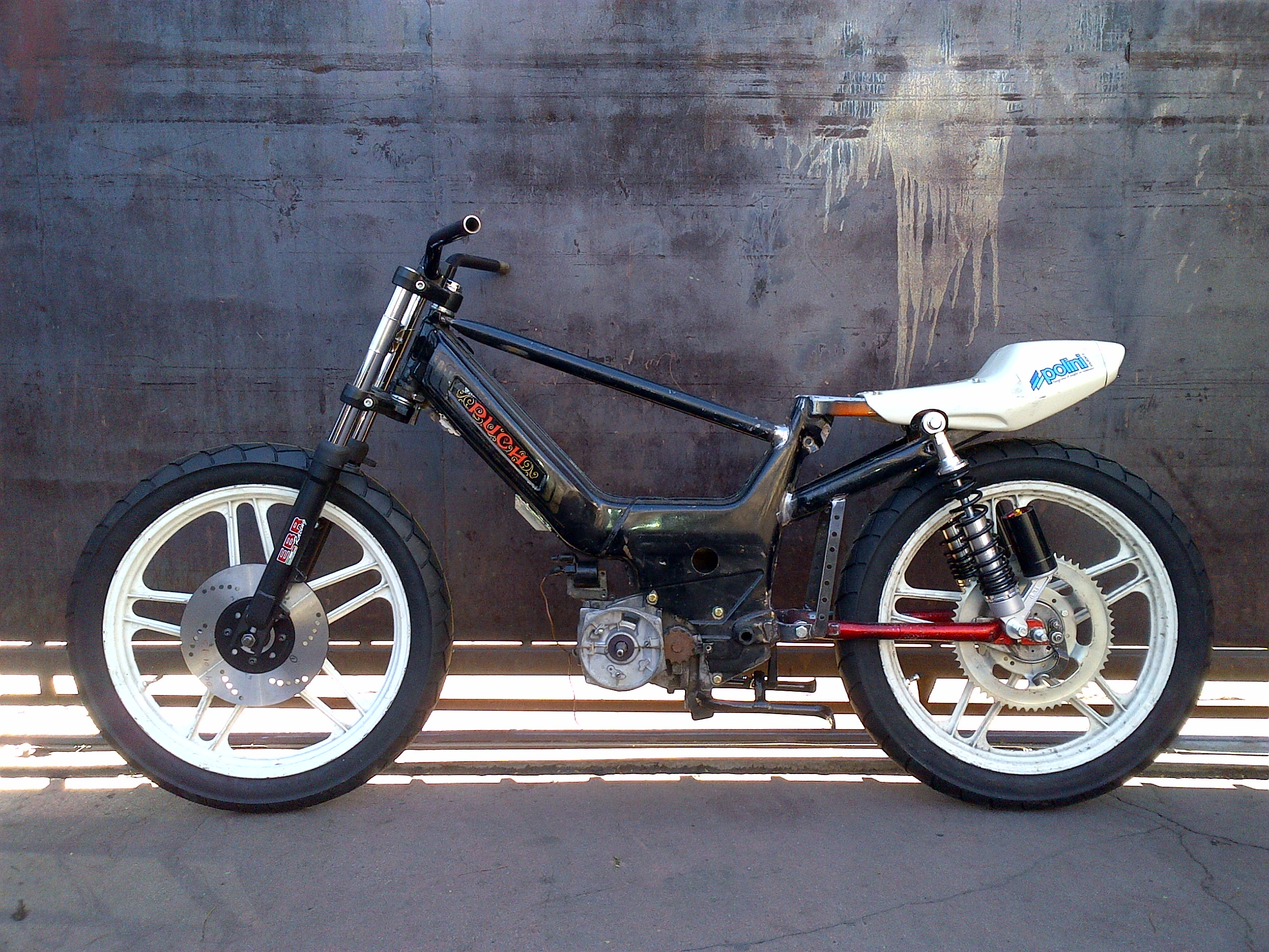 Tomahawk Moped Puch Maxi