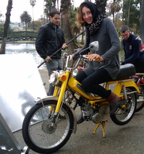 Blank Generation Moped Movie Behind the Scenes