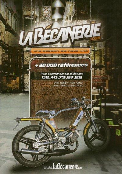 La Becanerie Ad featuring Christophe's Puegeot