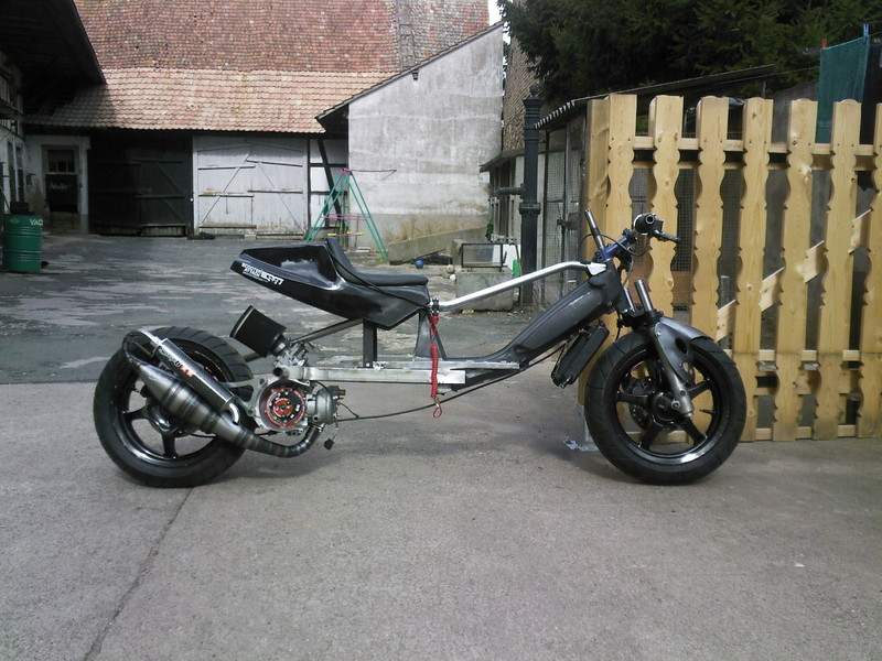 Custom Bike Tomahawk Mopeds