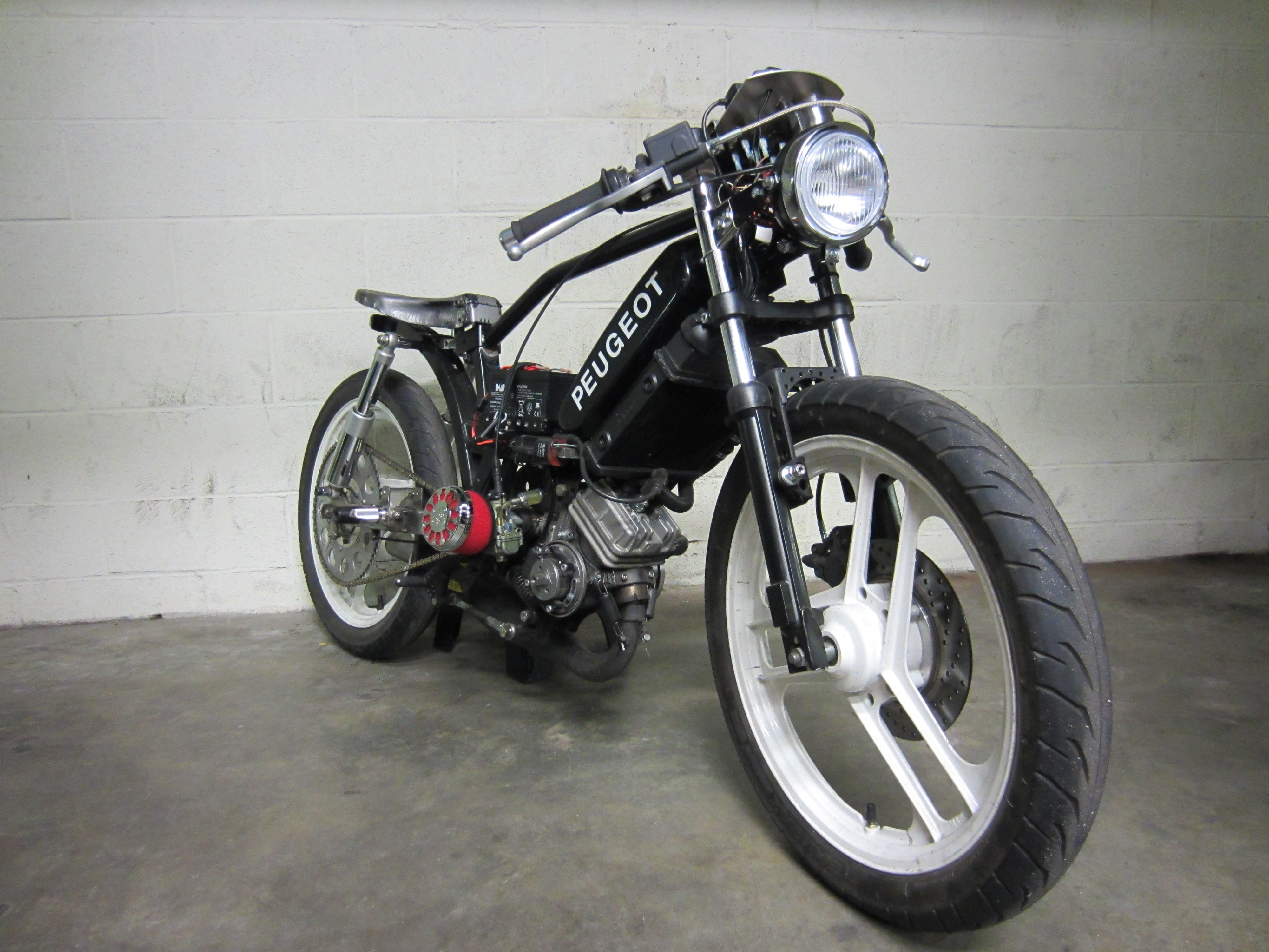 Puch Cc Cafe Racer