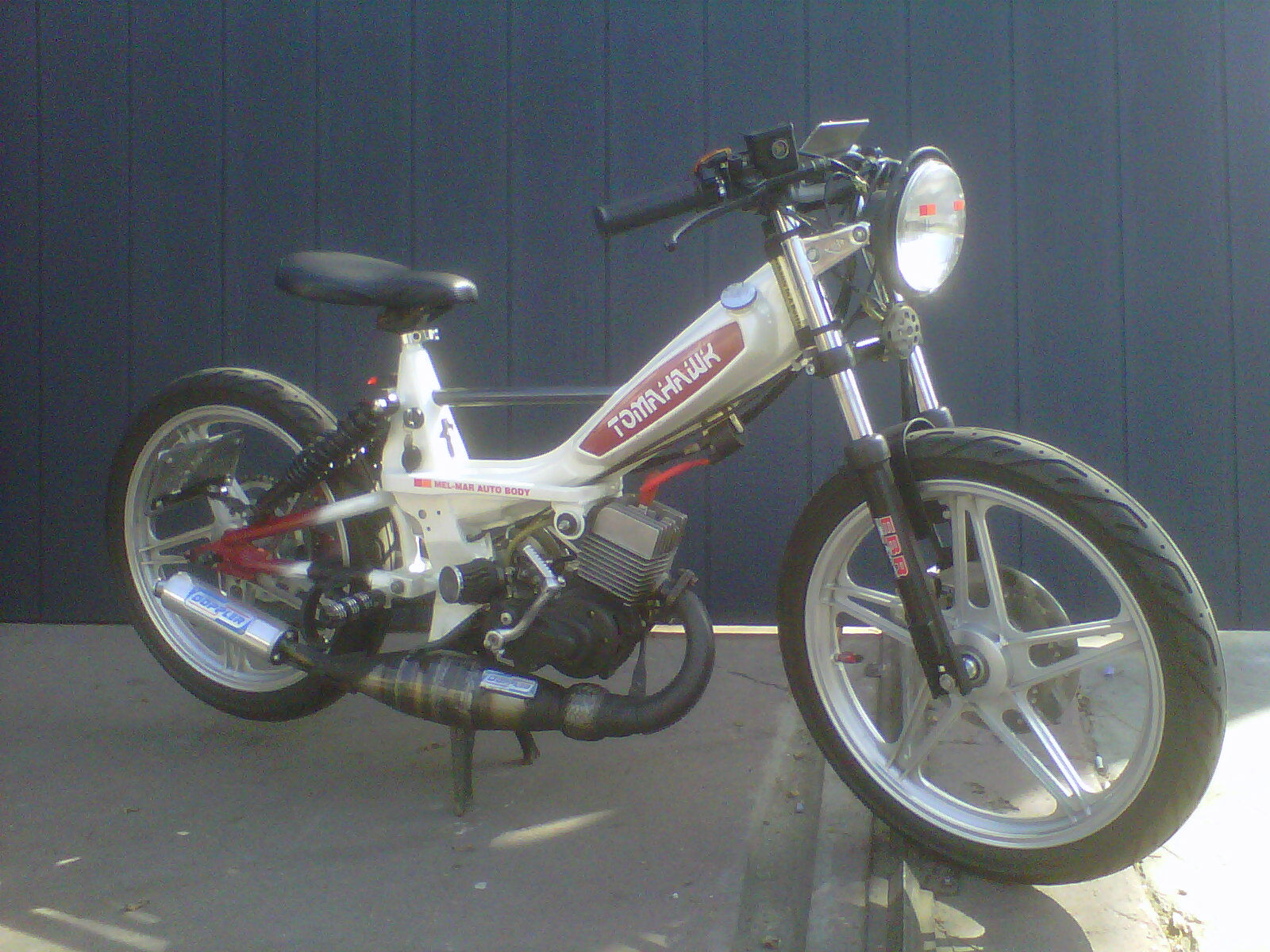 melvin's motobecane 50cc polini for sale | tomahawk mopeds