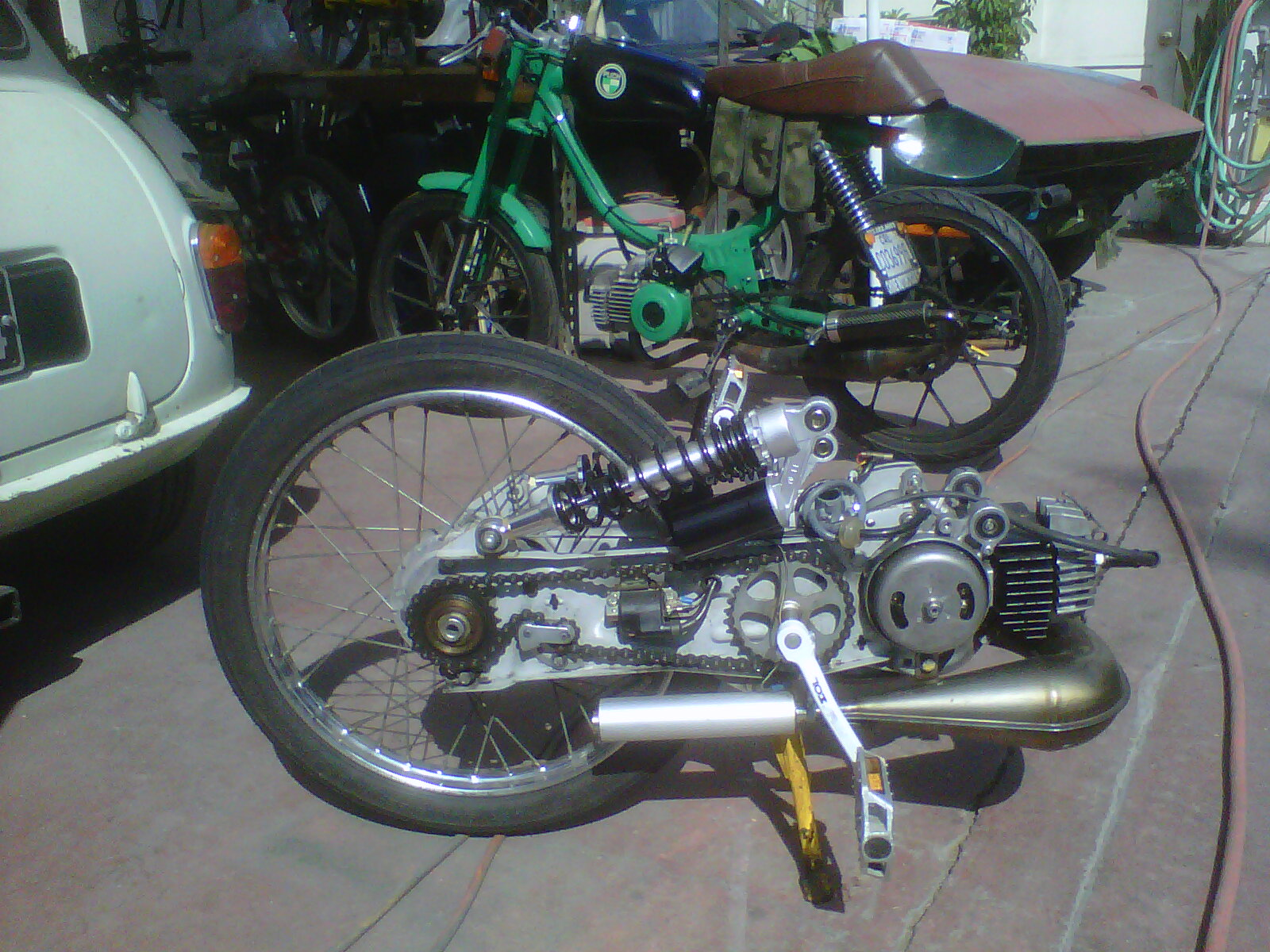 Custom Moped Tomahawk Mopeds Page 4