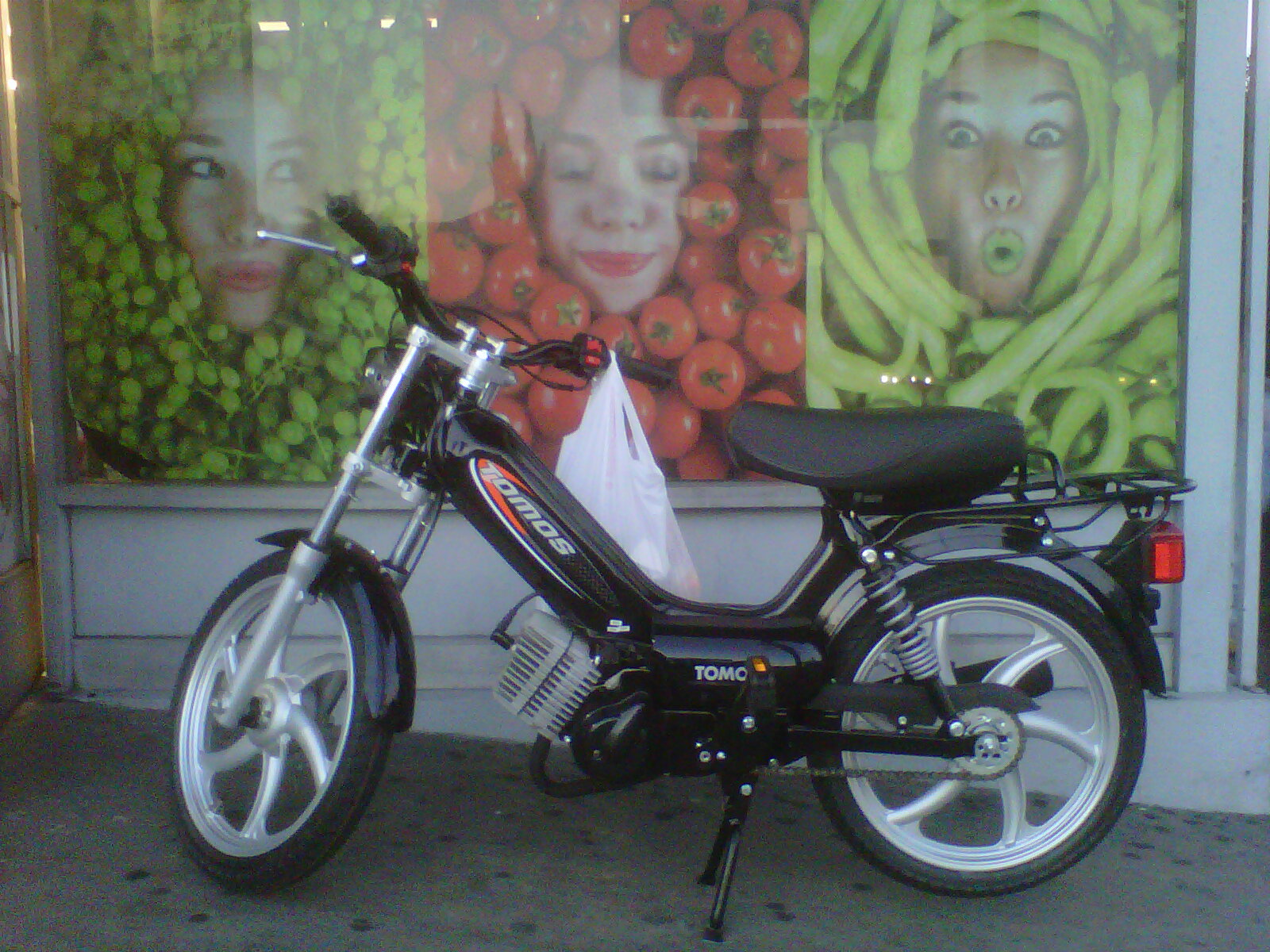 tomos ST   Tomahawk Mopeds