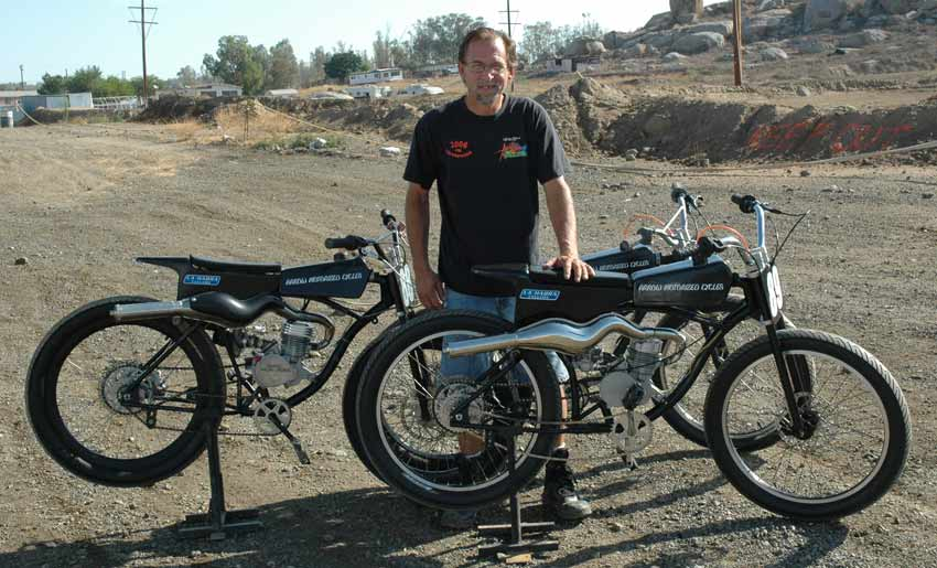 Motorized Bicycle Racing Tomahawk Mopeds
