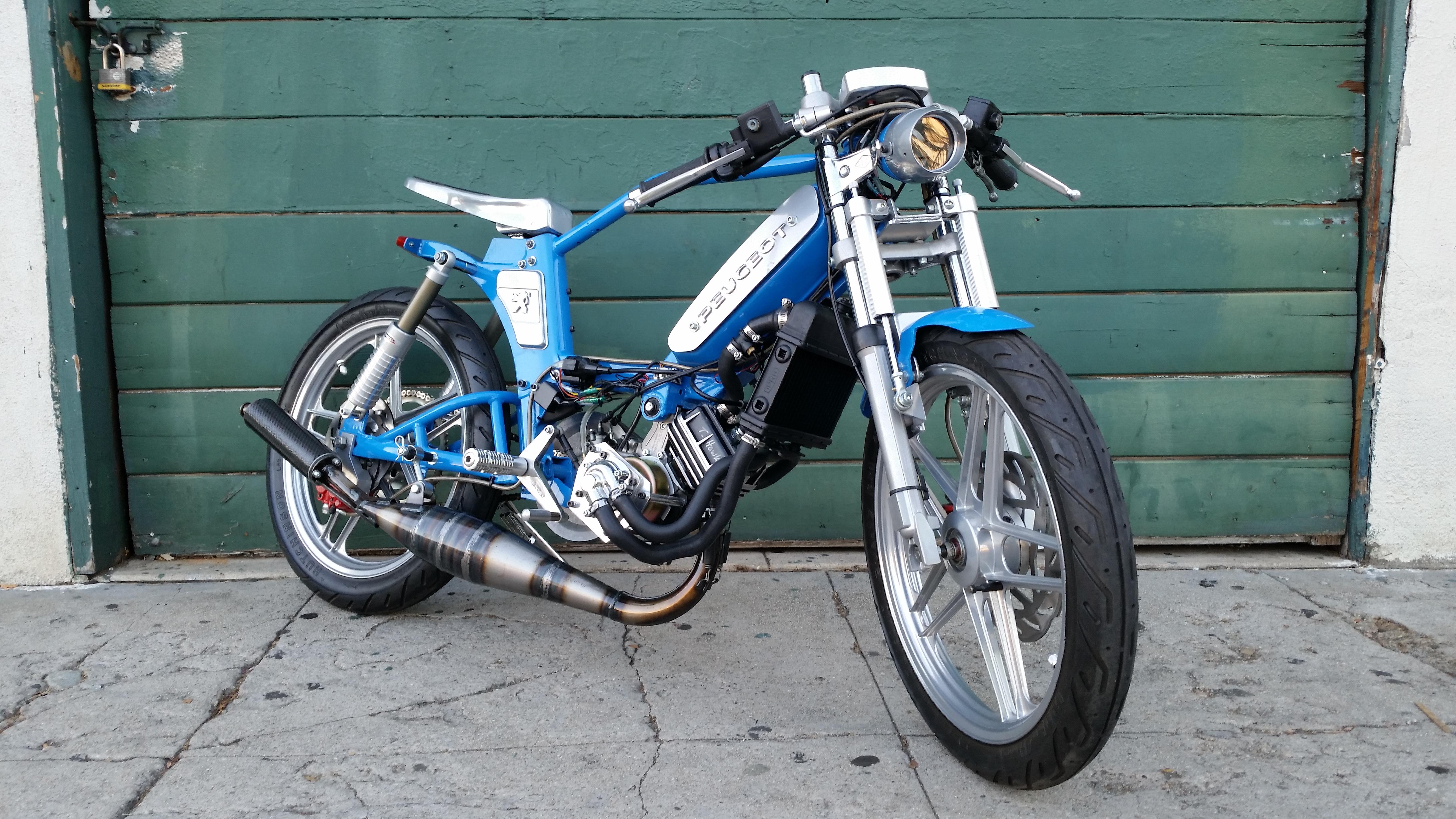 peugeot 103 t-hawk for sale $4,000 | tomahawk mopeds