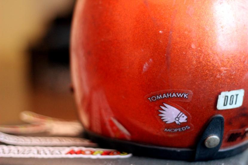 Tomahawk-Moped-Sticker-Chief-Helmet